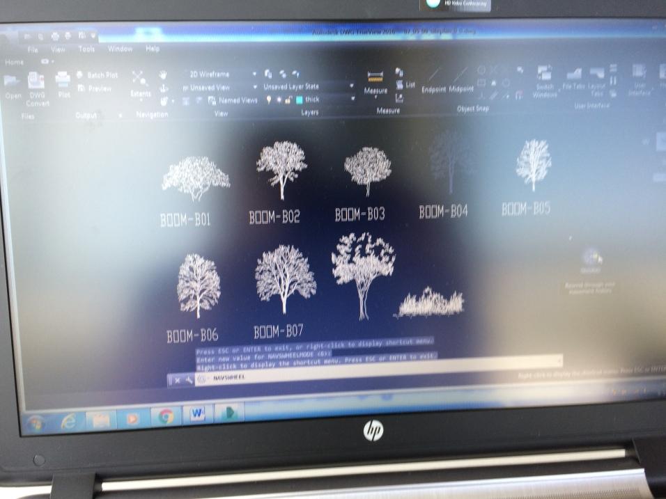 Tree skeletons